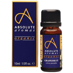 Absolute Aromas - Organic Grapefruit Essential Oil 10 mL.