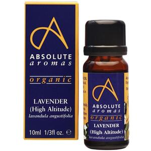 Absolute Aromas - Organic Lavender High Altitude Essential Oil 10 mL.