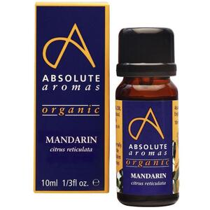 Absolute Aromas - Organic Mandarin Essential Oil 10 mL.
