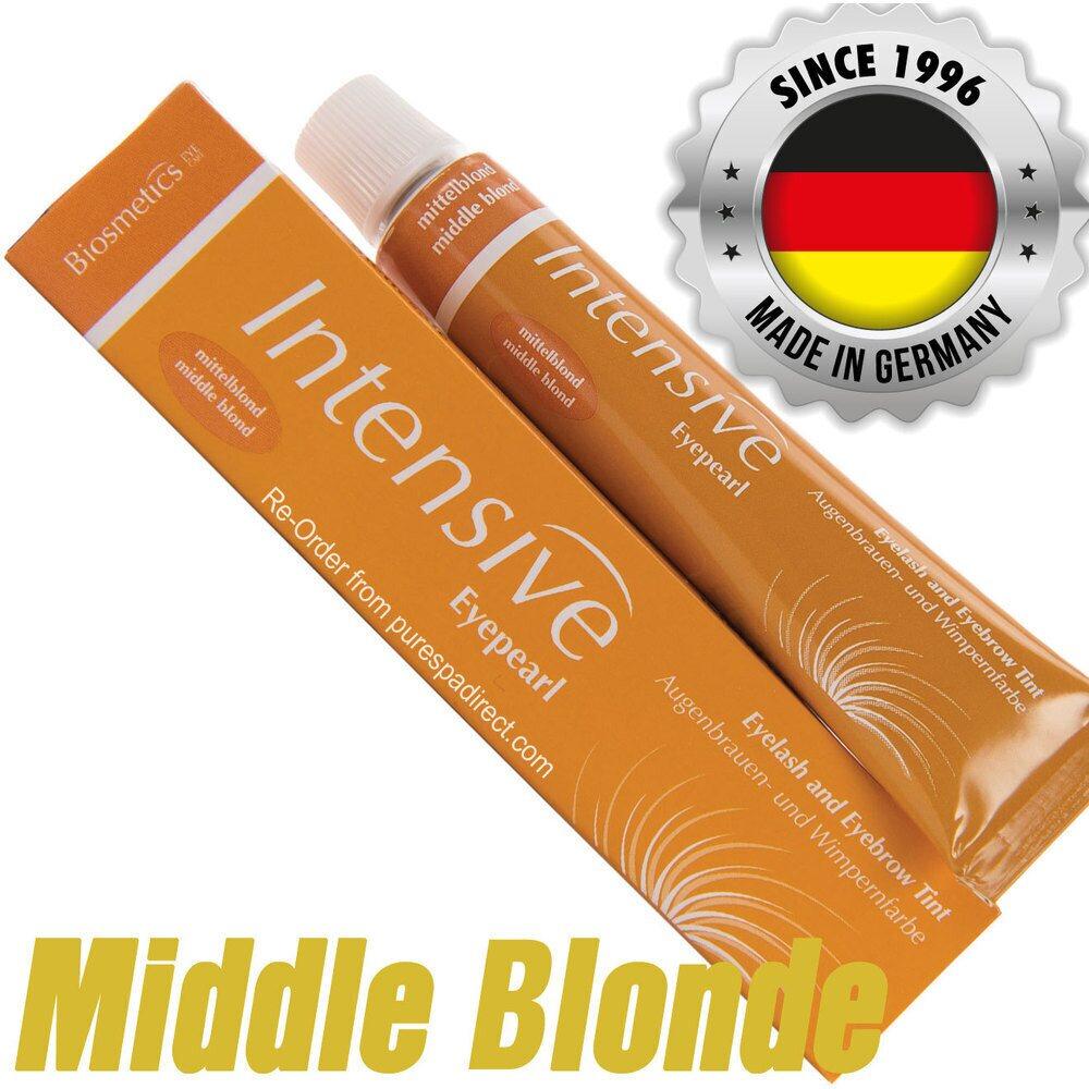 09a84fda498 INTENSIVE LASH & BROW TINT - Original Orange Box EyePearl - Cream Hair Dye  - Middle Blonde 20 mL.