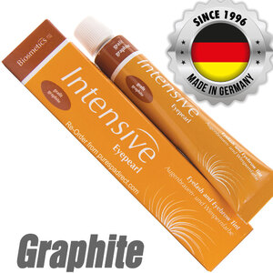 INTENSIVE LASH & BROW TINT - Original Orange Box EyePearl - Cream Hair Dye - Graphite 20 mL. - The Original Since 1996 - Made in Germany