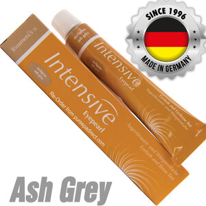 INTENSIVE LASH & BROW TINT - Original Orange Box EyePearl - Cream Hair Dye - Ash Grey 20 mL. - The Original Since 1996 - Made in Germany