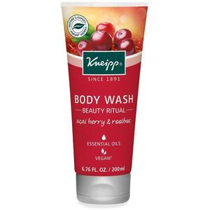 Kneipp Body Wash - Beauty Ritual - Acai Berry & Rooibos 6.76 oz. - 200 mL.
