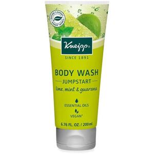 Kneipp Body Wash - Jumpstart - Lime Mint & Guarana 6.76 oz. - 200 mL.
