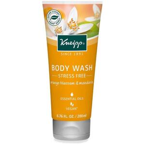 Kneipp Body Wash - Stress Free - Orange Blossom & Mandarin 6.76 oz. - 200 mL.