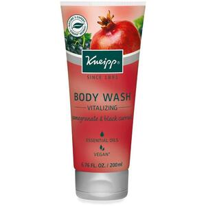 Kneipp Body Wash - Vitalizing - Pomegranate & Black Current 6.76 oz. - 200 mL.