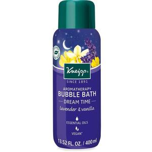 Kneipp Aromatherapy Bubble Bath - Dream Time - Lavender & Vanilla 13.52 oz. - 400 mL.