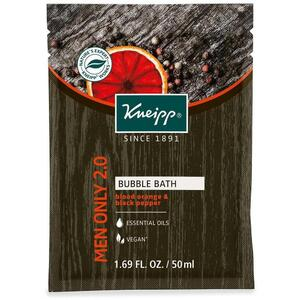 Kneipp Bubble Bath - Men Only 2.0 - Blood Orange & Black Pepper 1.69 Fl. oz. - 50 mL.