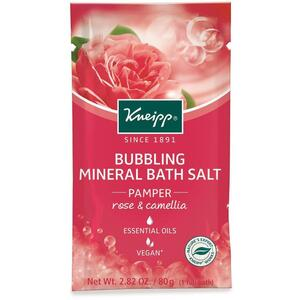 Kneipp Bubbling Mineral Bath Salt - Pamper - Rose & Camellia 2.82 oz. - 80 grams