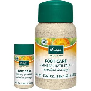 Kneipp Foot Care - Mineral Bath Salt - Calendula & Orange 17.63 oz. - 500 grams
