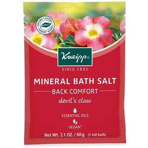 Kneipp Mineral Bath Salt - Back Comfort - Devil's Claw 2.1 oz. - 60 grams