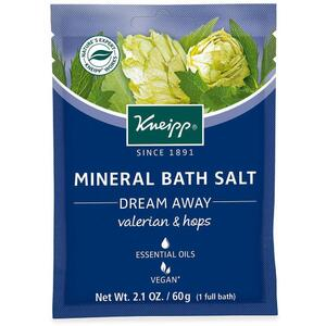 Kneipp Mineral Bath Salt - Dream Away - Valerian & Hops 2.1 oz. - 60 grams
