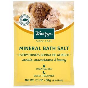 Kneipp Mineral Bath Salt - Everything's Gonna Be Alright - Vanilla Macadamia & Honey 2.1 oz. - 60 grams