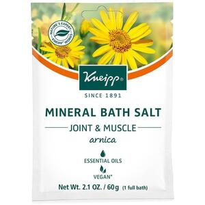 Kneipp Mineral Bath Salt - Joint & Muscle - Arnica 2.1 oz. - 60 grams