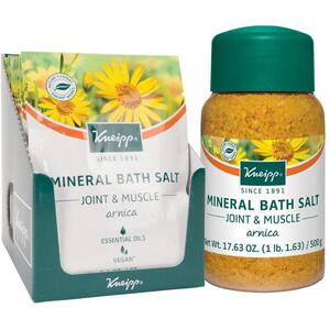 Kneipp Mineral Bath Salt - Joint & Muscle - Arnica 2.1 oz. - 60 grams Packet X 10
