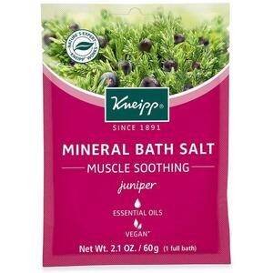 Kneipp Mineral Bath Salt - Muscle Soothing - Juniper 2.1 oz. - 60 grams