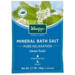 Kneipp Mineral Bath Salt - Pure Relaxation - Lemon Balm 2.1 oz. - 60 grams