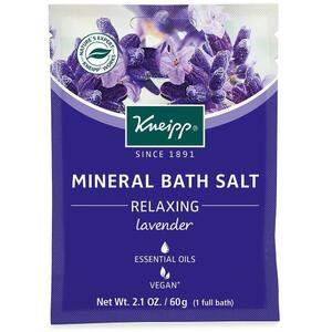 Kneipp Mineral Bath Salt - Relaxing - Lavender 2.1 oz. - 60 grams