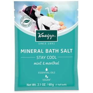 Kneipp Mineral Bath Salt - Stay Cool - Mint & Menthol 2.1 oz. - 60 grams