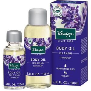 Kneipp Body Oil - Relaxing - Lavender 3.38 oz. - 100 mL. - 100 mL.