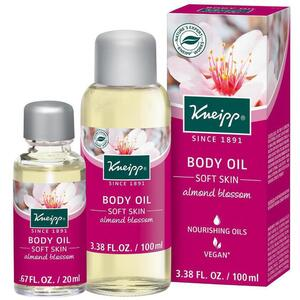 Kneipp Body Oil - Soft - Almond Blossom 3.38 oz. - 100 mL. - 100 mL.