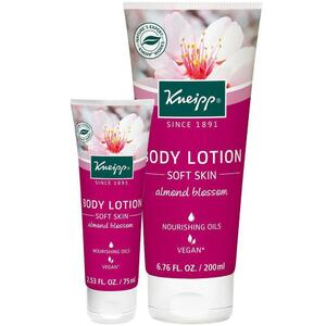 Kneipp Body Lotion - Soft Skin - Almond Blossom 6.76 oz. - 200 mL.