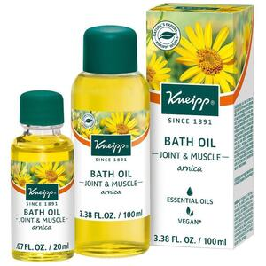 Kneipp Bath Oil - Joint & Muscle - Arnica 3.38 oz. - 100 mL. - 100 mL.