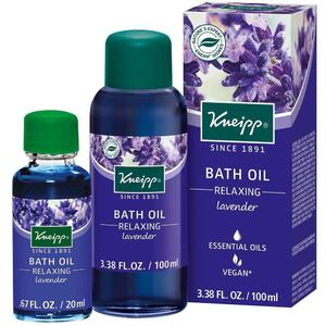 Kneipp Bath Oil - Relaxing - Lavender 3.38 oz. - 100 mL. - 100 mL.