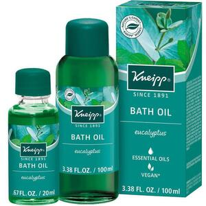 Kneipp Bath Oil - Eucalyptus 3.38 oz. - 100 mL. - 100 mL.
