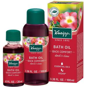 Kneipp Bath Oil - Back Comfort - Devil's Claw 3.38 oz. - 100 mL.