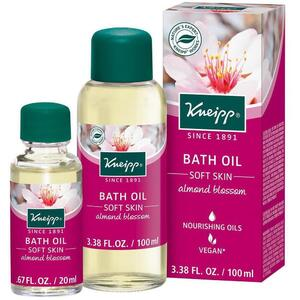 Kneipp Bath Oil - Soft Skin - Almond Blossom 3.38 oz. - 100 mL.