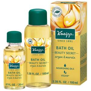 Kneipp Bath Oil - Beauty Secret - Argan & Marula 3.38 oz. - 100 mL.