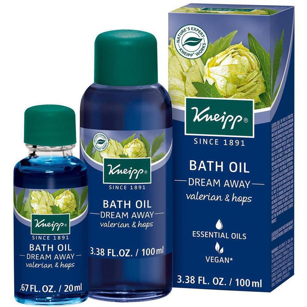 Kneipp Bath Oil - Dream Away - Valerian & Hops / 0 67 oz  - 20 mL