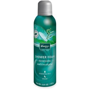 Kneipp Shower Foam - Refreshing - Mint & Eucalyptus 6.81 oz. - 193 grams