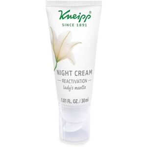 Kneipp Night Cream - Reactivation - Lady's Mantle 1.01 fl. oz. - 30 mL.