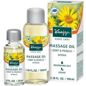 Kneipp Massage Oil - Joint & Muscle - Arnica 3.38 oz. - 100 mL.