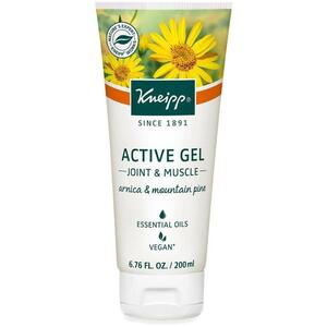 Kneipp Active Gel - Joint & Muscle - Arnica & Mountain Pine 6.76 oz. - 200 mL.