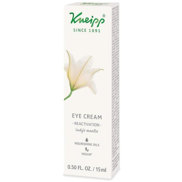 Kneipp Eye Cream - Reactivation - Lady's Mantle 0.50 oz. - 15 mL.