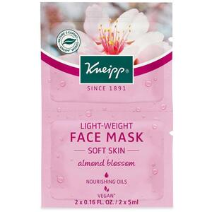 Kneipp Face Mask - Soft Skin - Almond Blossom 2 Masks - 0.16 oz - 5 mL. Each