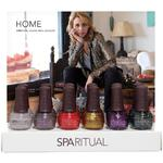 SpaRitual 2014 Holiday Collection - 12 Pieces Nail Lacquer Display
