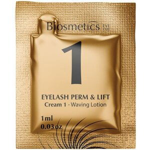 Intensive Lash Perming + Lash Lifting - STEP 1 - Waving Lotion 10 Sachets - 1 ml. Each