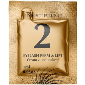 Intensive Lash Perming + Lash Lifting - STEP 2 - Neutralizer 10 Sachets - 1 mL. Each