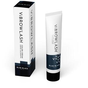 Vibrowlash Blue Black Color Cream - Certified Vegan and Cruelty-Free Lash & Brow Tint 0.67 fl. oz. - 20 mL.