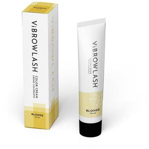 Vibrowlash Blonde Color Cream - Certified Vegan and Cruelty-Free Lash & Brow Tint 0.67 fl. oz. - 20 mL.