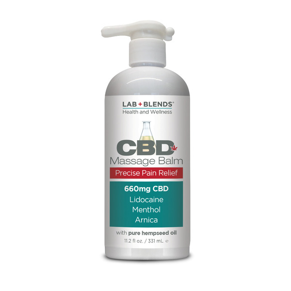 Biotone Lab Blends CBD Massage Balm 11.6 fl. oz.