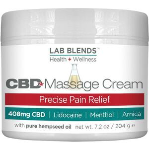 Biotone Lab Blends CBD Massage Cream 7.2 fl. oz.