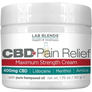 Biotone Lab Blends CBD Pain Relief Maximum Strength Cream 1.76 oz.