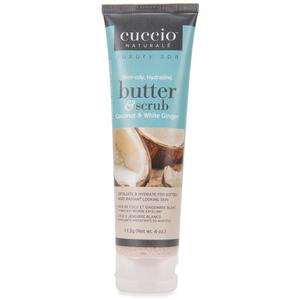 Cuccio Coconut & White Ginger Butter Scrub 4 oz.