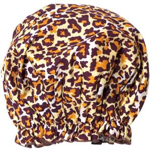 Spa Sister Bouffant Shower Cap - Leopard Great for Spa Retail!