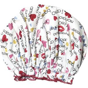 Spa Sister Bouffant Shower Cap - Love Great for Spa Retail!
